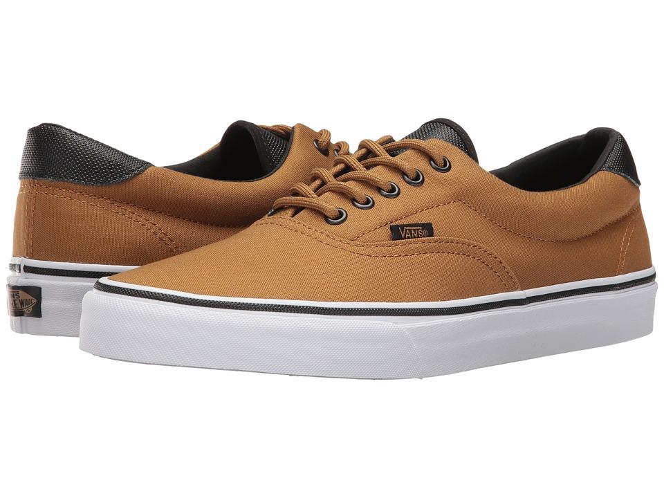 Vans Era 59 ((Canvas/Military) Bistre/White) Skate Shoes