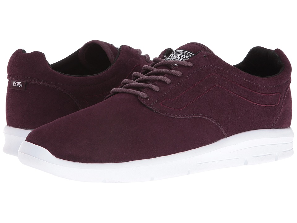 Vans - ISO 1.5 ((Suede) Iron Brown/True White) Men's Skate Shoes