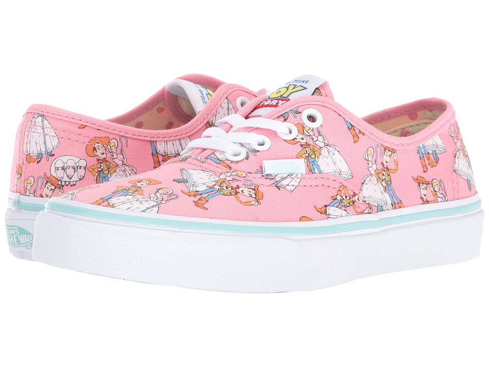 Vans Kids - Authentic Toy Story (Little Kid/Big Kid) ((Toy Story) Woody/Bo Peep) Girls Shoes