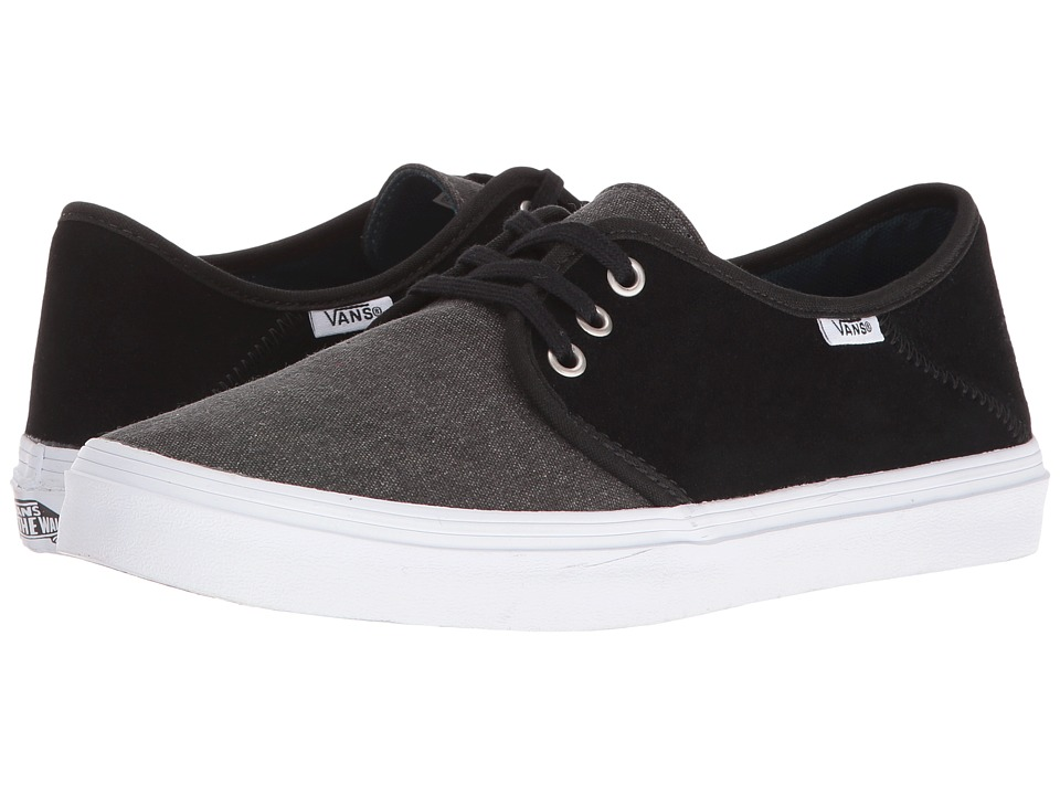 Vans - Tazie SF ((Washed) Black) Women's Lace up casual Shoes