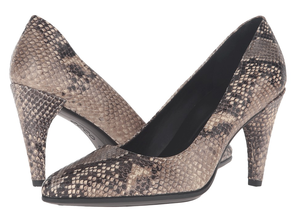 ECCO - Shape 75 Pointy Pump (Sand) High Heels