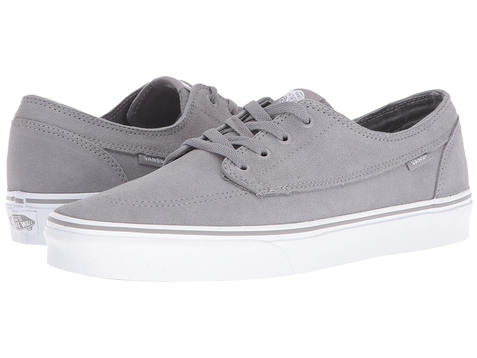 Vans - Brigata ((Suede) Frost Gray/True White) Skate Shoes