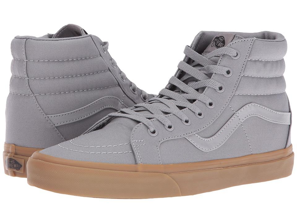Vans - SK8-Hi Reissue ((Canvas Gum) Frost Gray/Light Gum) Skate Shoes