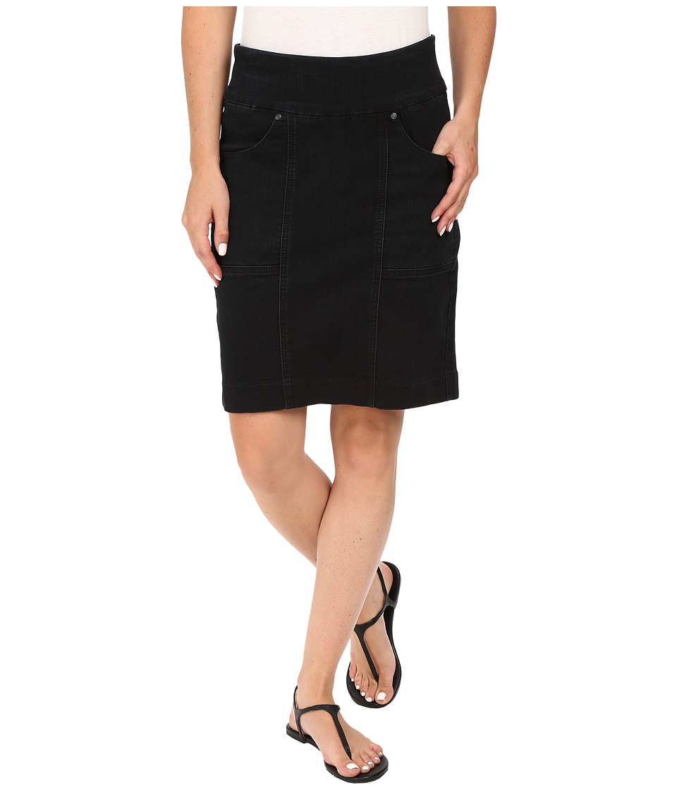 Jag Jeans - Janelle Pull-On Skirt Comfort Denim in Black Void (Black Void) Women's Skirt