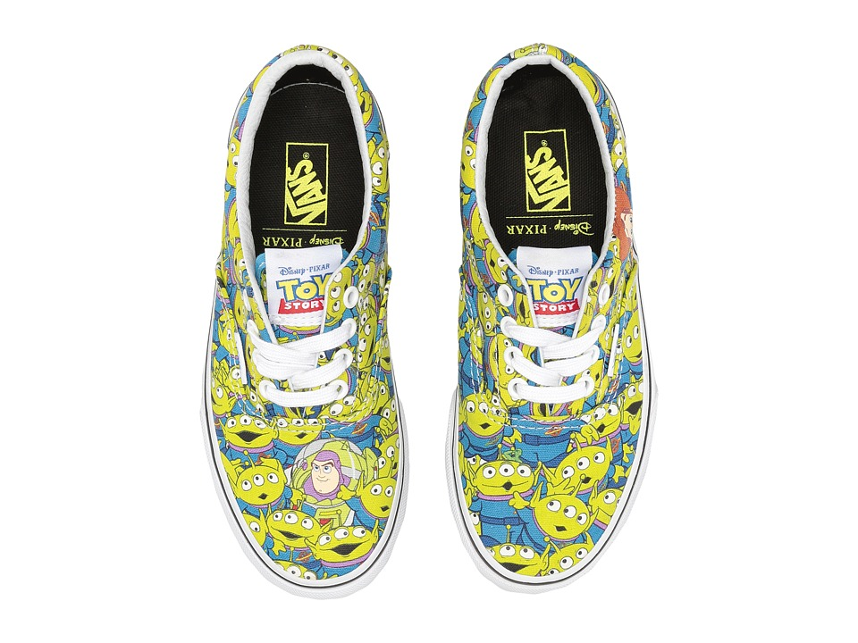 Vans Kids Era Toy Story (Little Kid/Big Kid) ((Toy Story) Aliens/True White) Boys Shoes