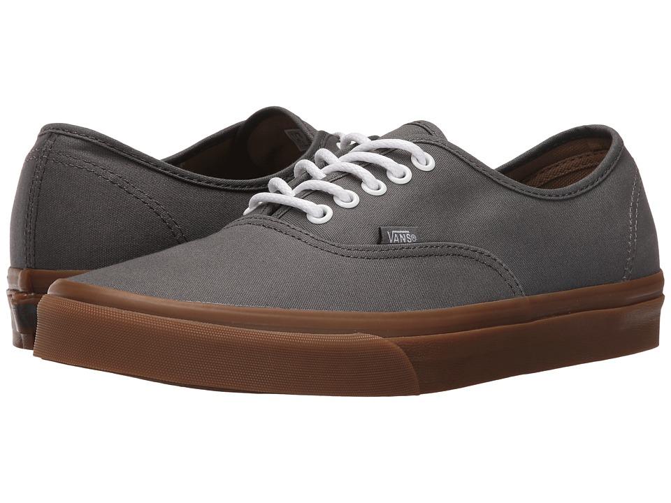 Vans - Authentic ((Gumsole) Pewter/Light Gum) Skate Shoes