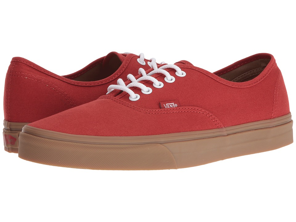 Vans - Authentic ((Gumsole) Bossa Nova/Light Gum) Skate Shoes