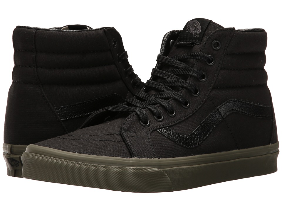 Vans - SK8-Hi Reissue ((Vansguard) Black/Ivy Green) Skate Shoes