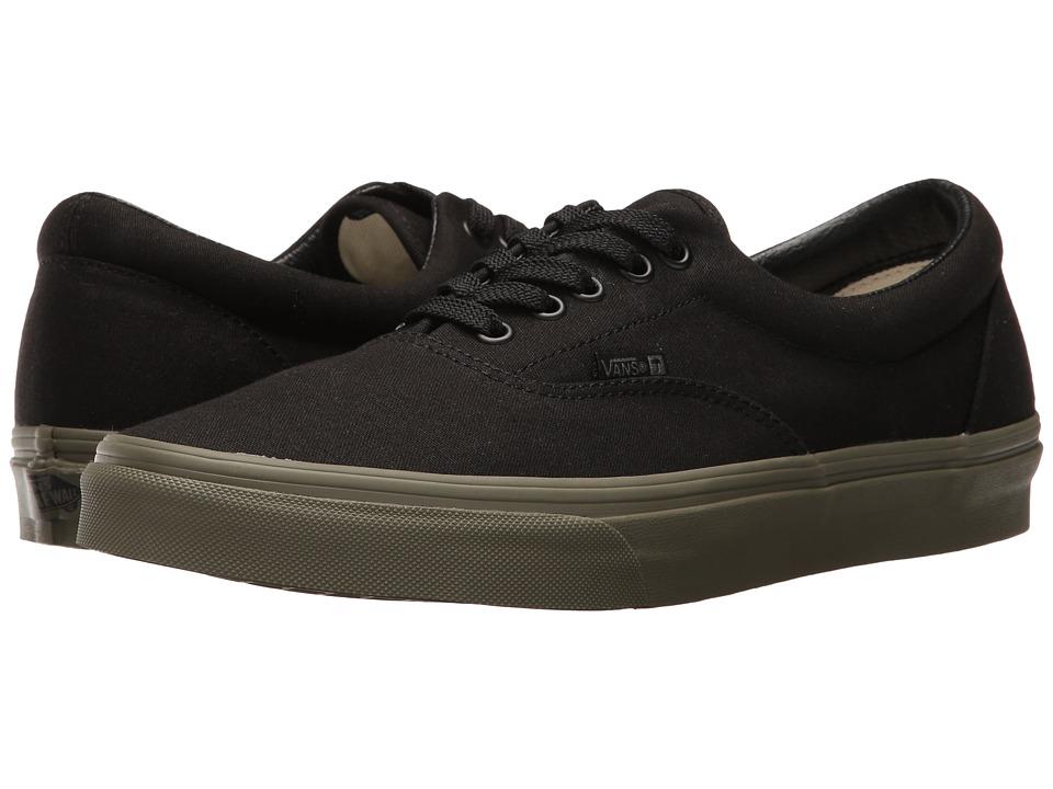 Vans - Era ((Vansguard) Black/Ivy Green) Skate Shoes