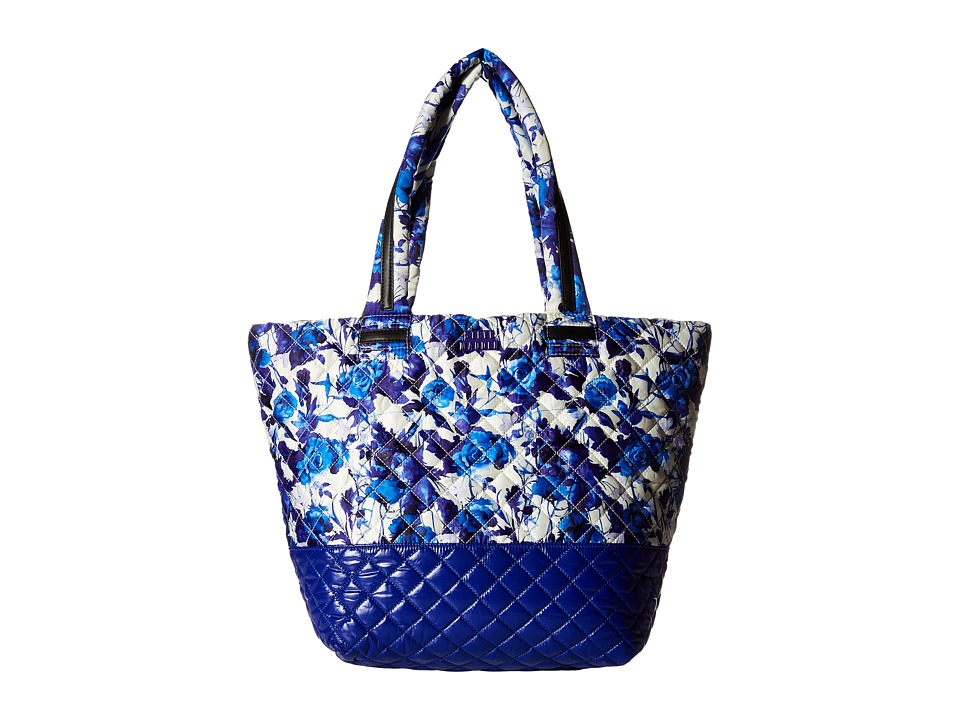 Steve Madden - Broverr Tote (Blue Floral) Tote Handbags