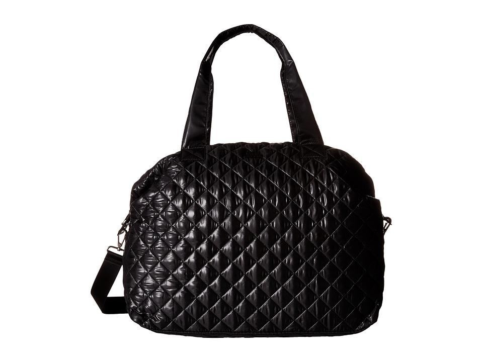 Steve Madden - Bquilt2s Weekender (Black) Weekender/Overnight Luggage