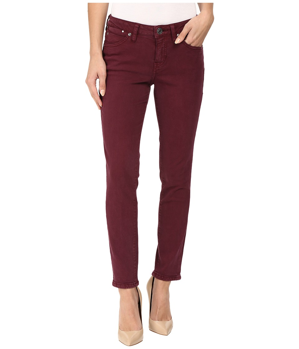 Jag Jeans - Penelope Slim Ankle Supra Colored Denim in Elderberry (Elderberry) Women's Jeans