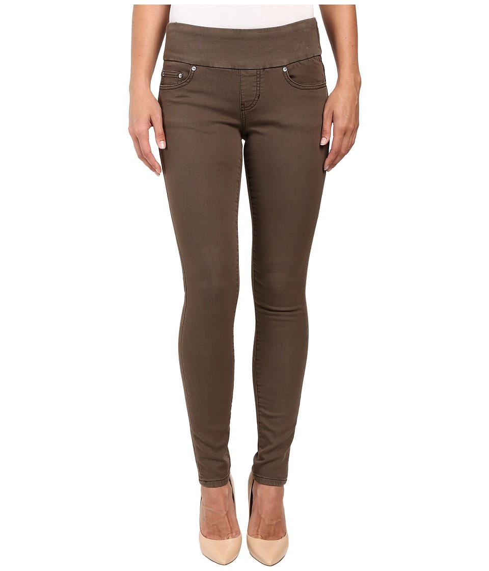 Jag Jeans Nora Pull-On Skinny Freedom Colored Knit Denim in Saddle (Saddle) Women