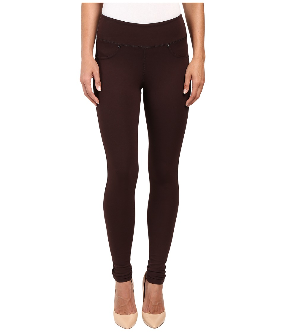 Jag Jeans - Ricki Pull-On Legging Double Knit Ponte (Dark Chocolate) Women's Casual Pants
