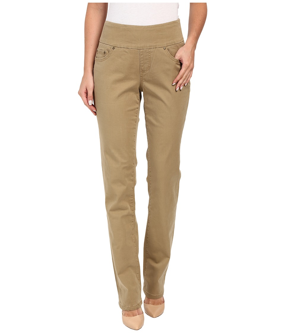 Jag Jeans - Peri Pull-On Straight Bay Twill (Toffee) Women's Casual Pants