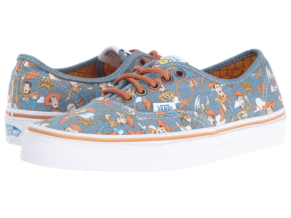 Vans - Authentic X Toy Story Collection ((Toy Story) Woody/True White) Skate Shoes