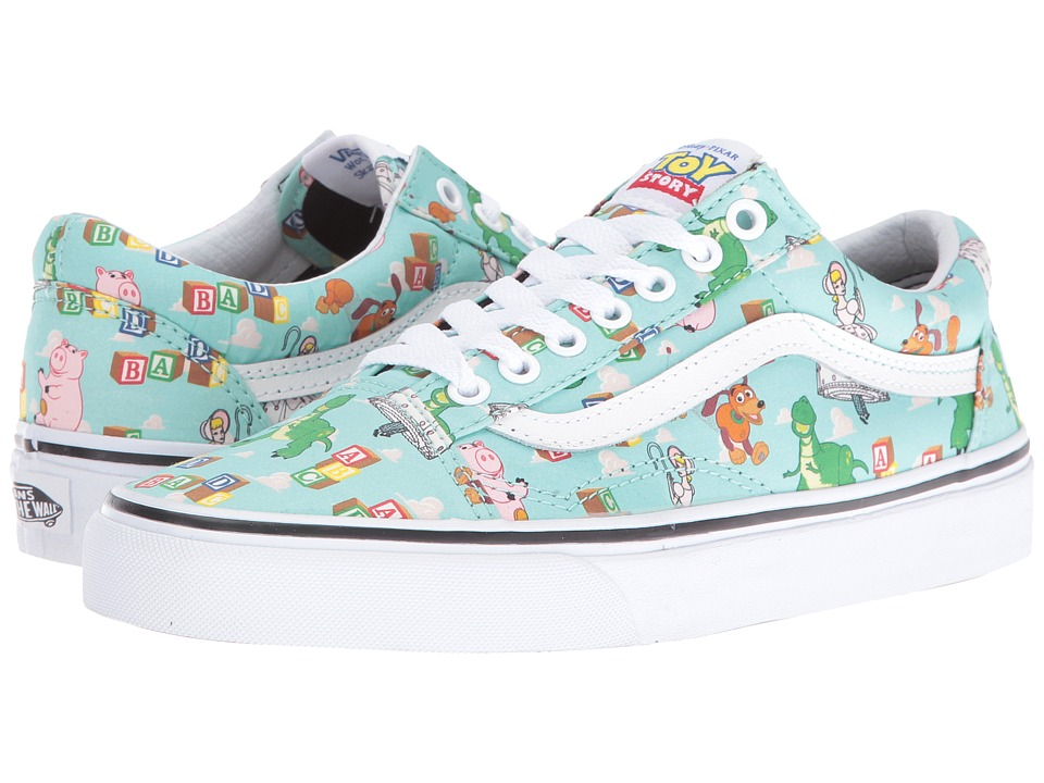 Vans - Old Skool X Toy Story Collection ((Toy Story)Andy's Toys/Blue Tint) Skate Shoes