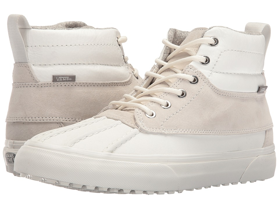 Vans - SK8-Hi Del Pato MTE ((Scotchgard) Blanc De Blanc/Polka Dots) Skate Shoes