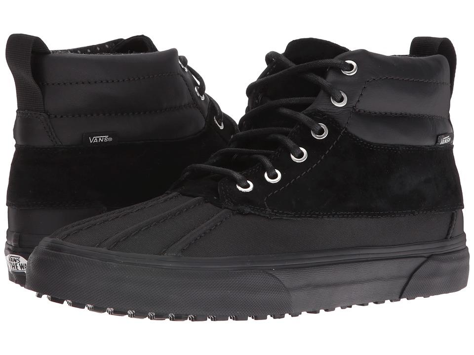 Vans - SK8-Hi Del Pato MTE ((Scotchgard) Black/Polka Dots) Skate Shoes
