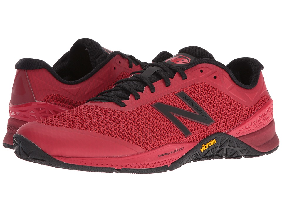 New Balance - MX40v1 (Black/Red) Men's Shoes