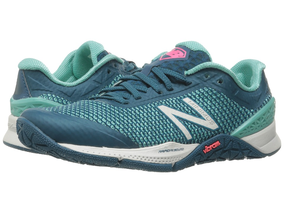 New Balance - WX40v1 (Green/Green) Women's Cross Training Shoes