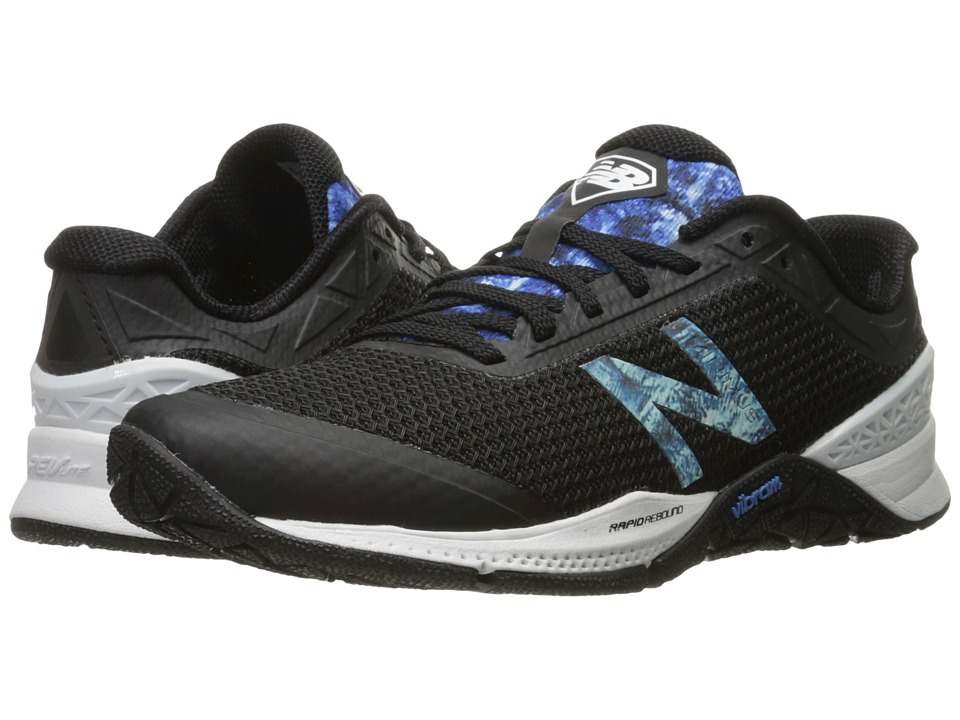 New Balance - WX40v1 (Black/Majestic Blue) Women's Cross Training Shoes