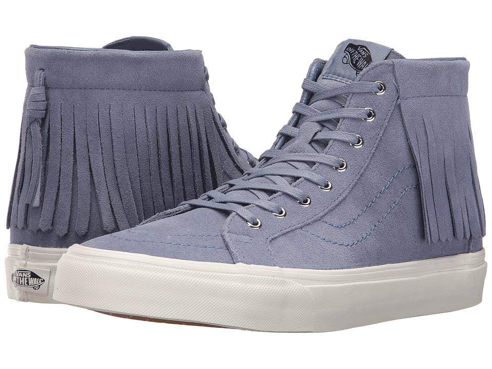 Vans - SK8-Hi Moc ((Suede) Infinity/Blanc De Blanc) Skate Shoes