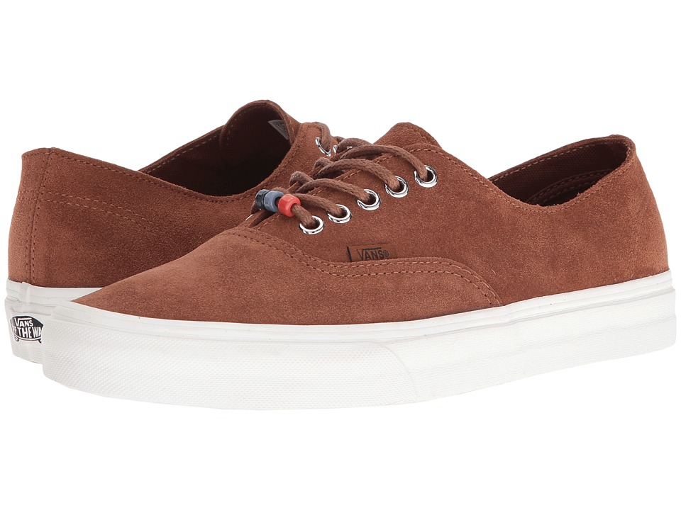 Vans - Authentic Decon ((Suede) Monk's Robe/Blanc De Blanc) Skate Shoes