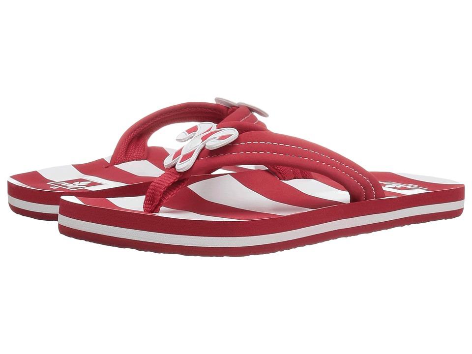 Reef Kids Little Ahi Scents (Infant/Toddler/Little Kid/Big Kid) (Candy Cane) Girls Shoes