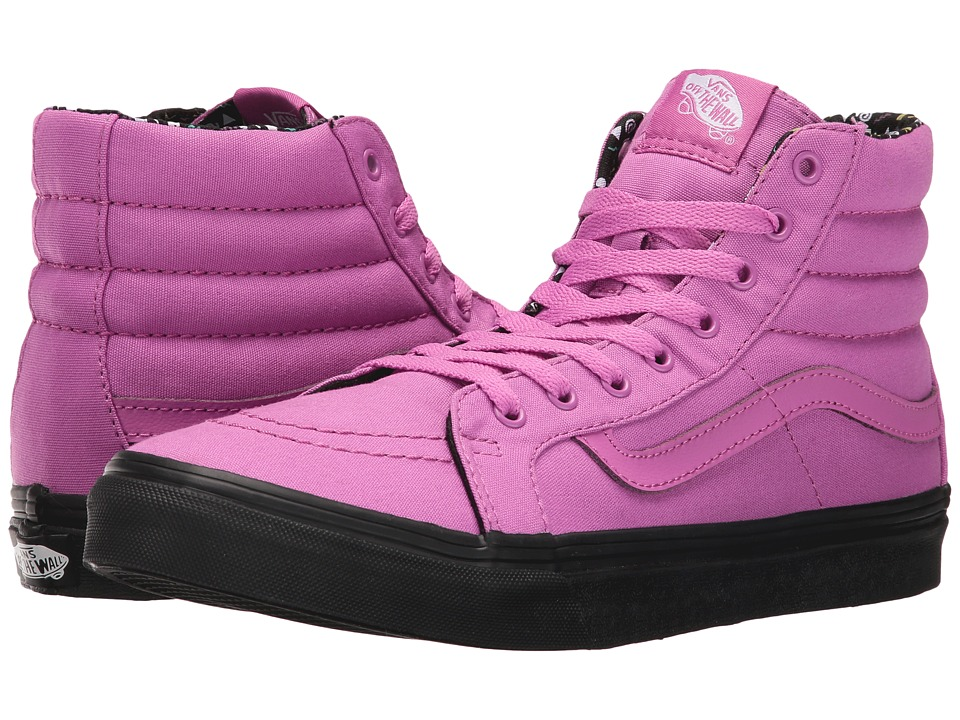 Vans - SK8-Hi Slim ((Pop Dots) Black/Purple Orchid) Skate Shoes