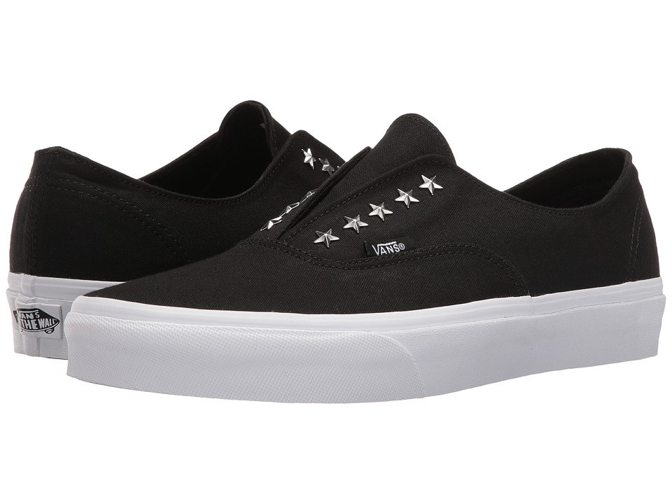 Vans - Authentic Gore ((90s Star Stud) Black) Skate Shoes
