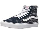 SK8-Hi Slim ((Quilted Denim) Dress Blues/Zephyr) Skate Shoes
