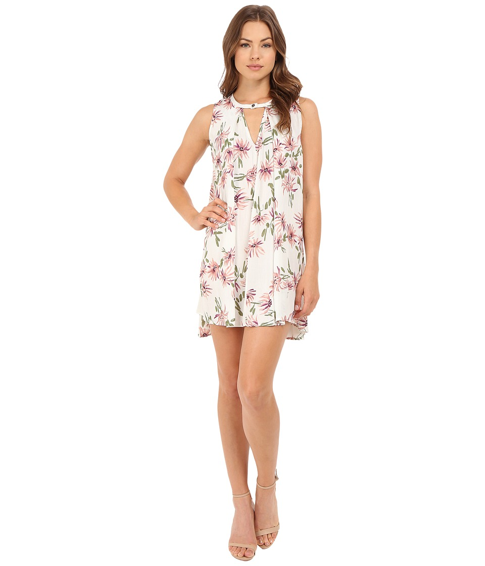 Brigitte Bailey - Violeta Floral Boho Dress (Pink Floral) Women's Dress