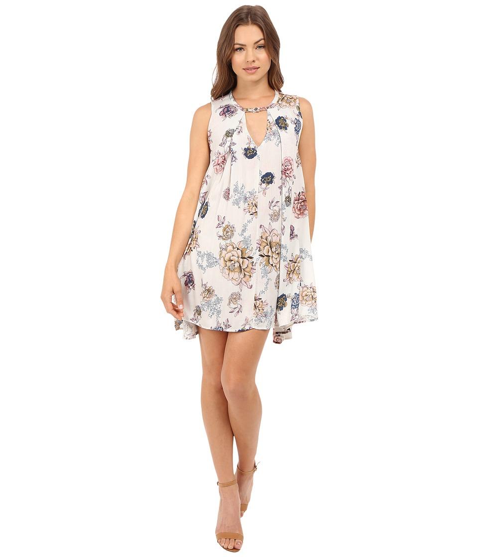 Brigitte Bailey - Violeta Floral Boho Dress (Rose Floral) Women's Dress