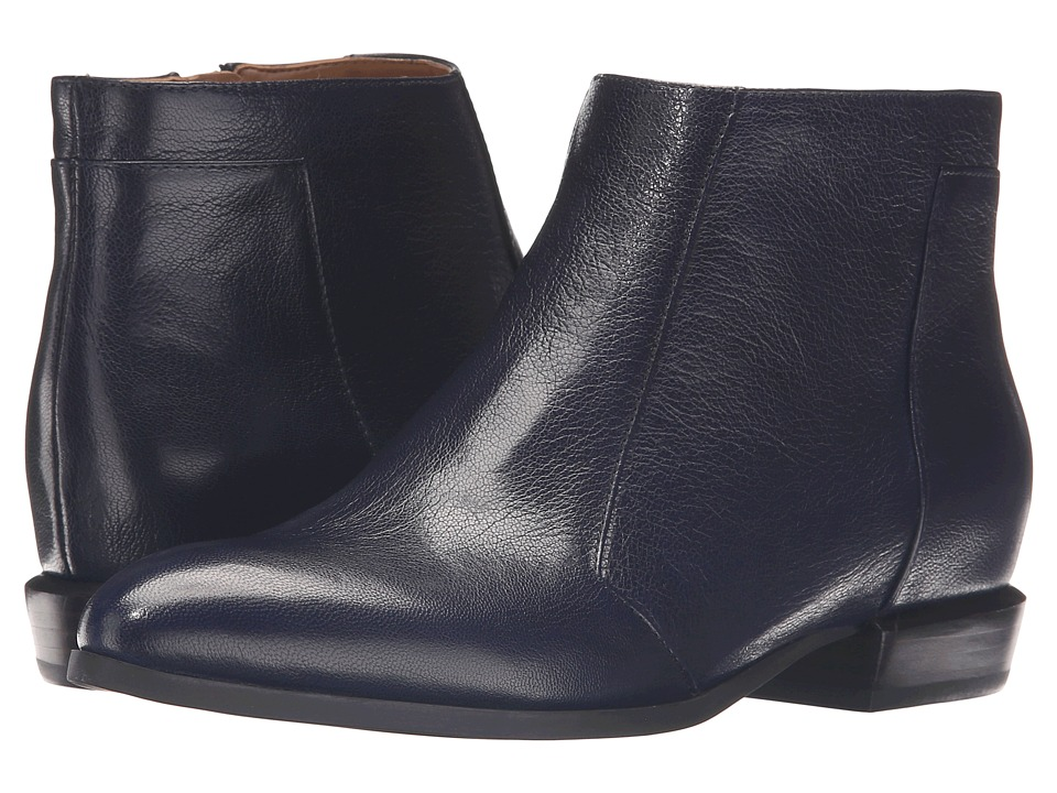 Nine West - Doplar (Navy Leather) Women's Shoes