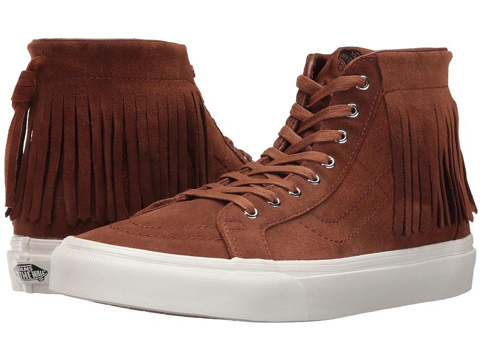 Vans - SK8-Hi Moc ((Suede) Monk's Robe/Blanc De Blanc) Skate Shoes