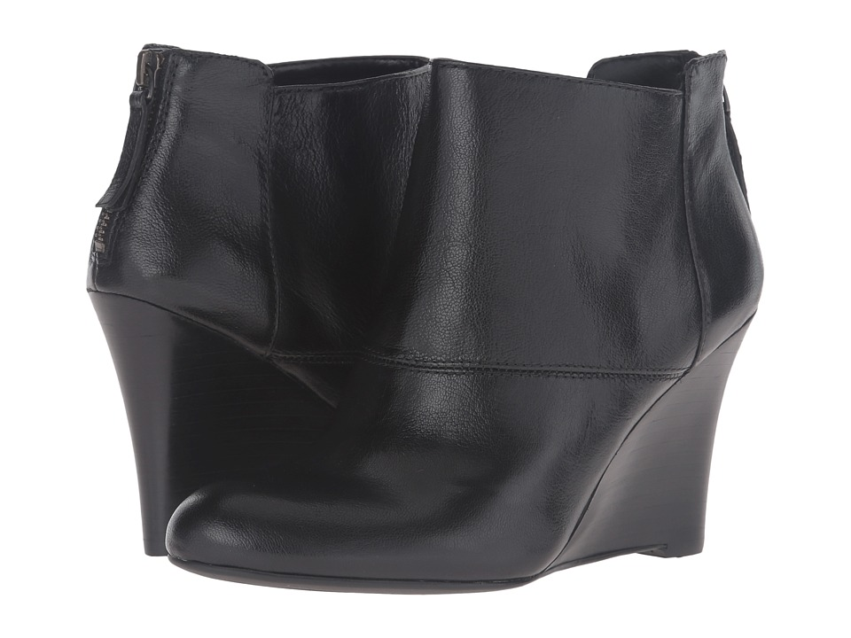 Nine West Optimistic (Black Leather) Women