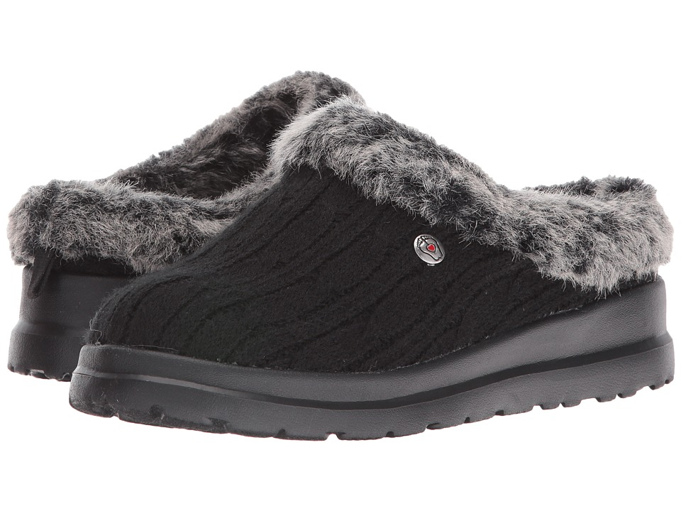 BOBS from SKECHERS - Cherish - Bunny Hill (Black) Women's Shoes