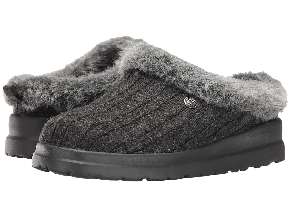 BOBS from SKECHERS Cherish Bunny Hill (Charcoal) Women