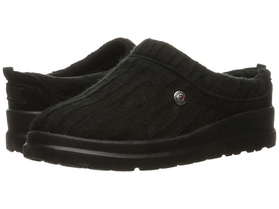 BOBS from SKECHERS Cherish Bob-Sled (Black/Black) Women