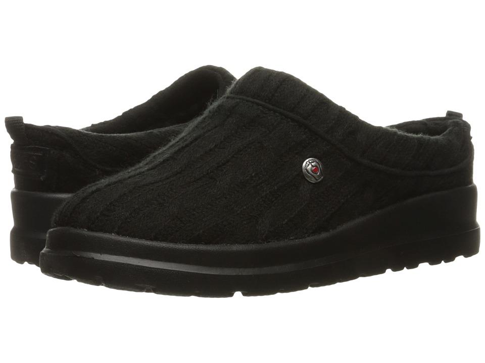 BOBS from SKECHERS - Cherish - Bob-Sled (Black/Black) Women's Shoes