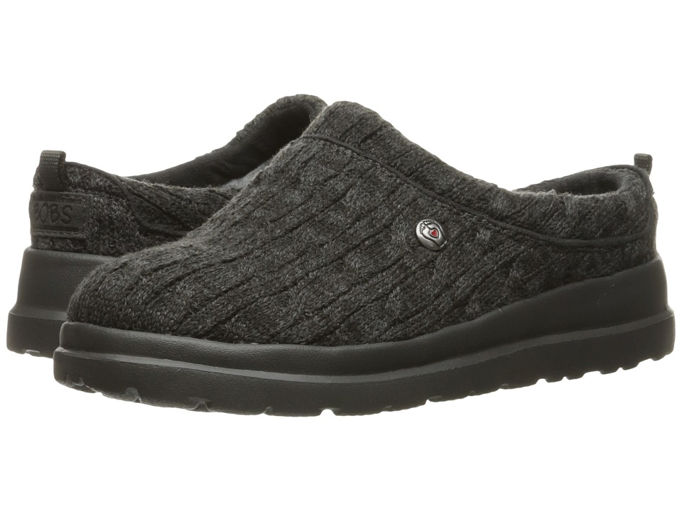 BOBS from SKECHERS - Cherish - Bob-Sled (Charcoal) Women's Shoes