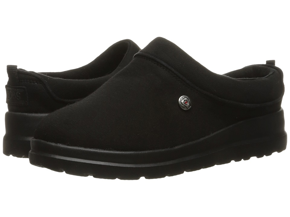 BOBS from SKECHERS Cherish Sleigh Ride (Black/Black) Women