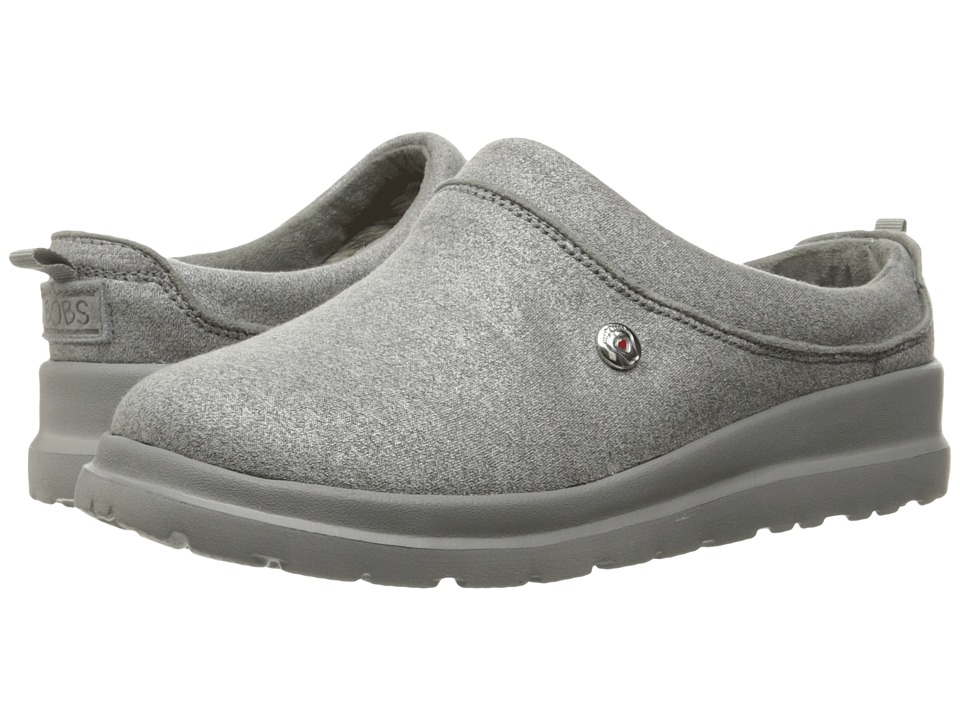 BOBS from SKECHERS - Cherish - Sleigh Ride (Silver) Women's Shoes