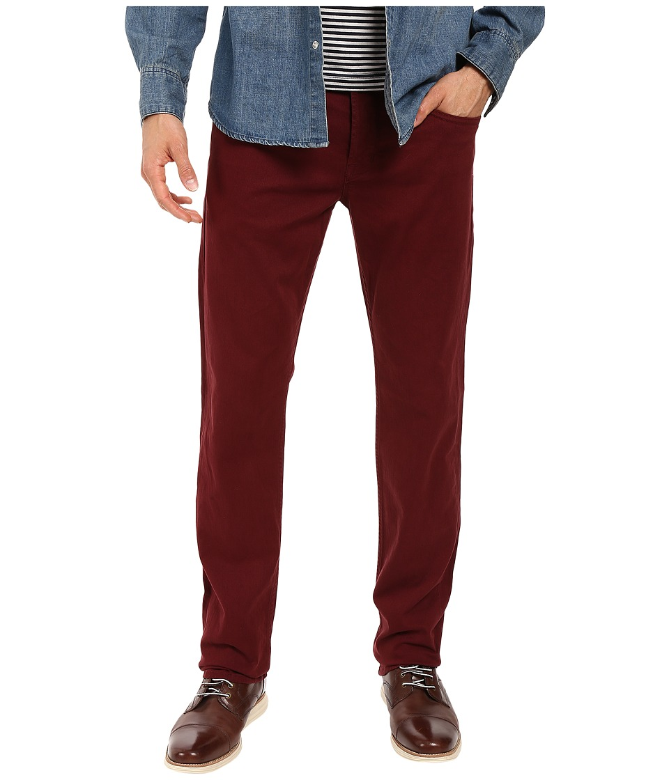 Hudson - Byron Straight in Trooper Crimson (Trooper Crimson) Men's Jeans