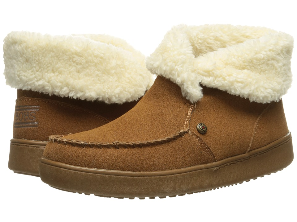 BOBS from SKECHERS - Cozy High - Mittens (Chestnut) Women's Pull-on Boots
