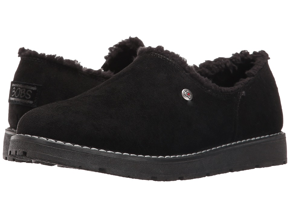 BOBS from SKECHERS Bobs Alpine Black Diamond (Black) Women