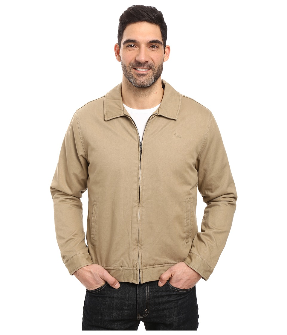 Quiksilver - Everyday Billy Jacket (Khaki) Men's Coat