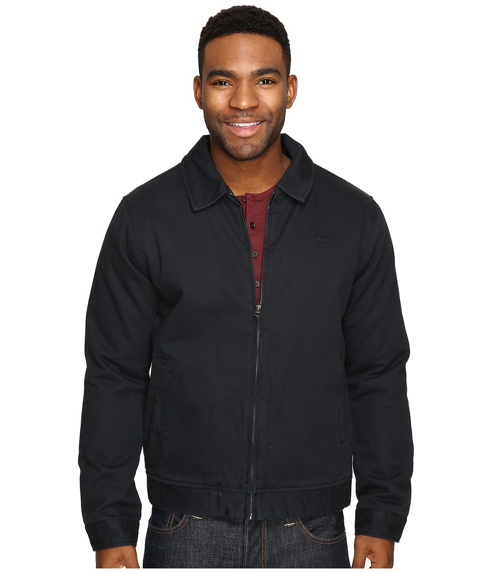 Quiksilver - Everyday Billy Jacket (Black) Men's Coat