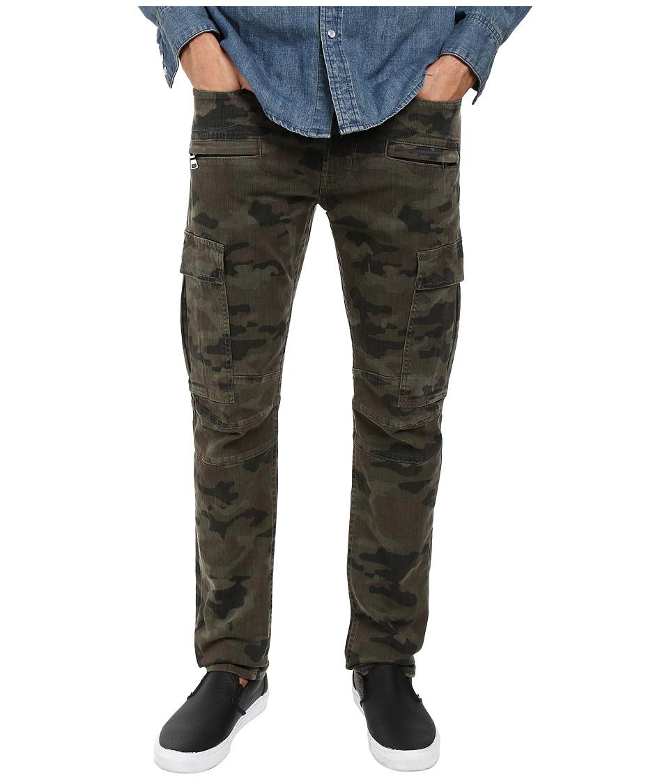 Hudson - Greyson Cargo in Rustic Camo (Rustic Camo) Men's Jeans